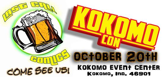 KokomoCon Last Call Comics.